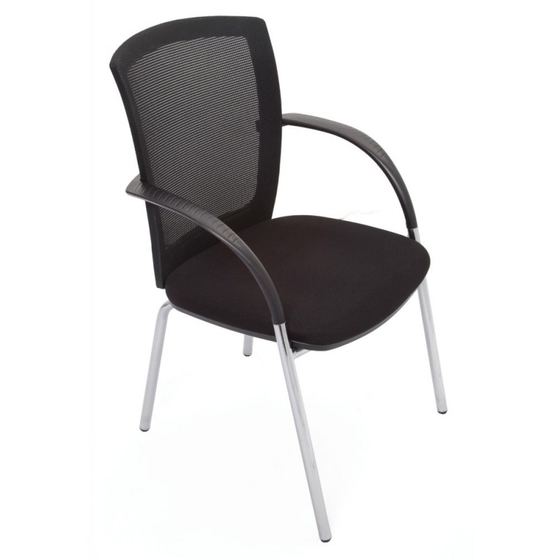 Large Mesh Back Visitor Chair