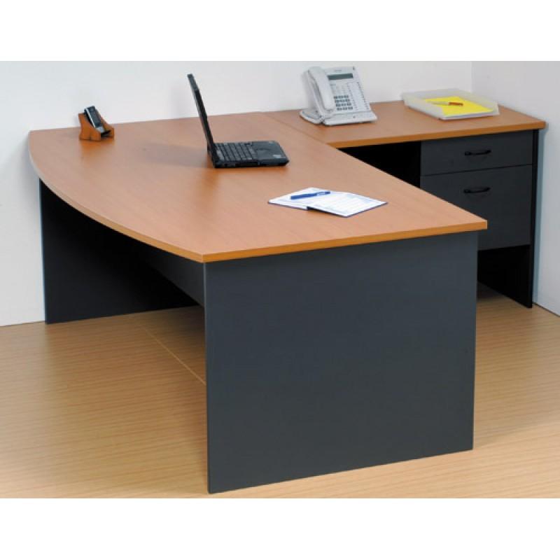 Bow Front Desk Logan