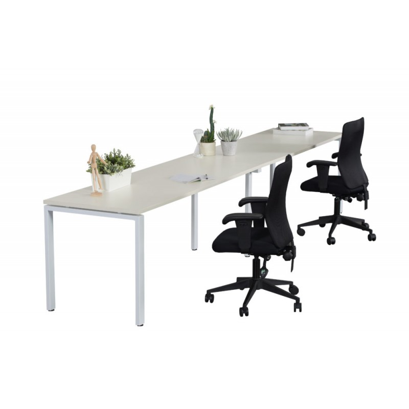 Multi User Single Sided Workstation Profile Leg without Screen