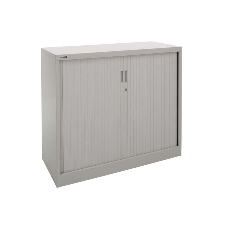 Brownbuilt Tambour Door Cupboard Cabinet - Office ...