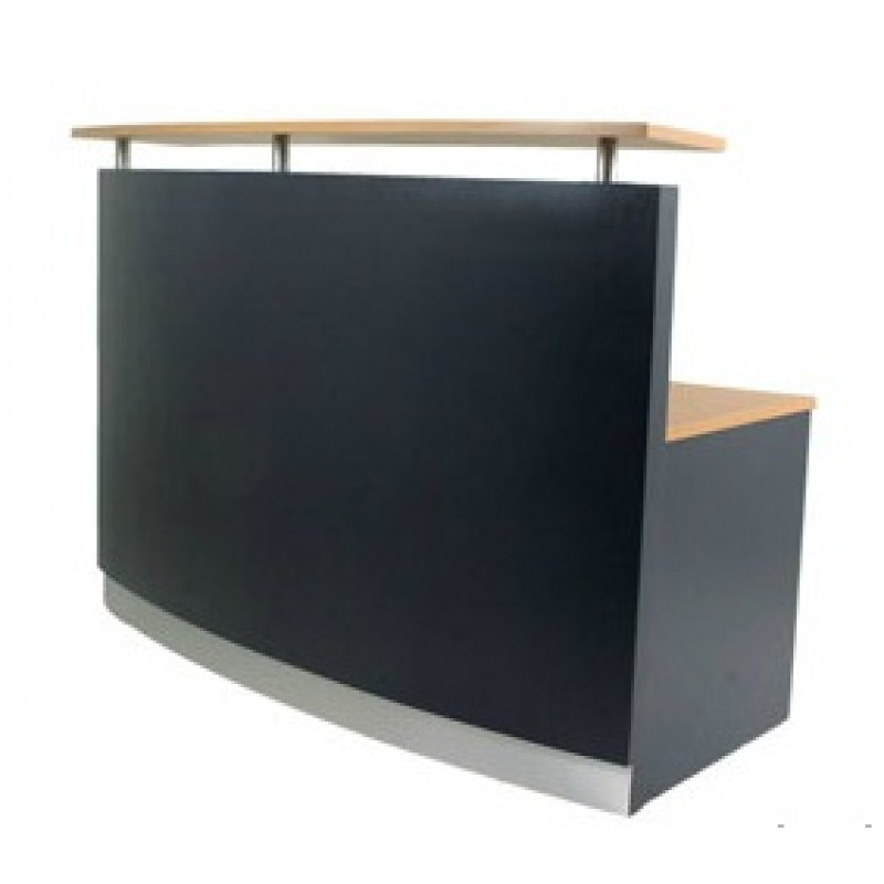 Curved Reception Desk/Counter R1