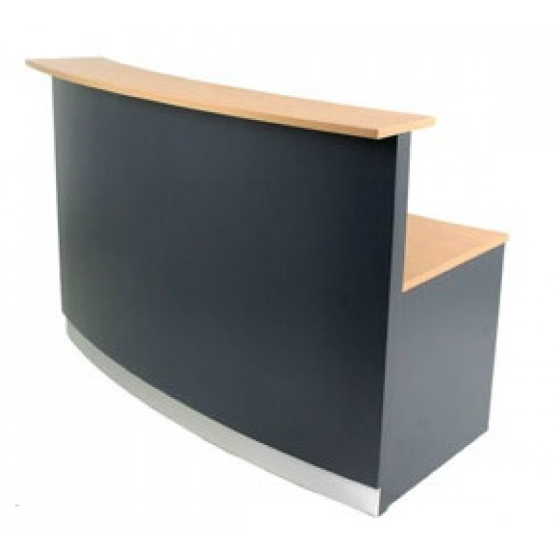 Curved Receptionist Desk/Counter R2