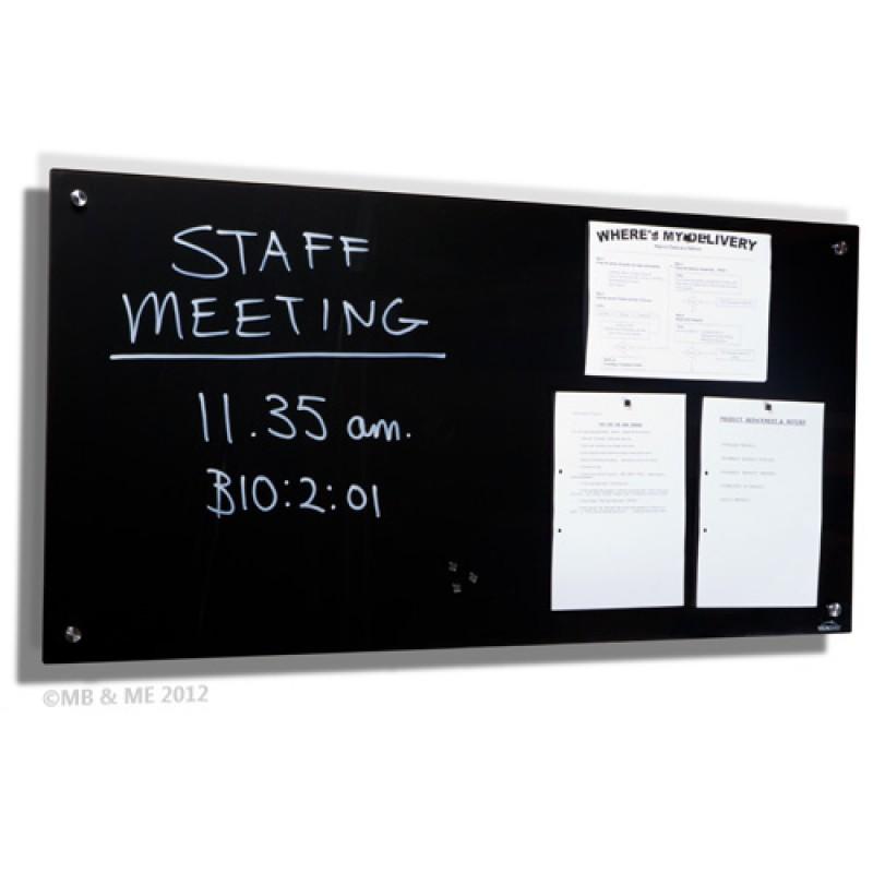 Magnetic Black Glassboard